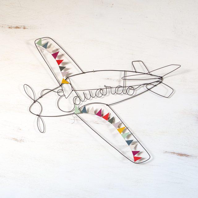 Nombre de Alambre - Avión