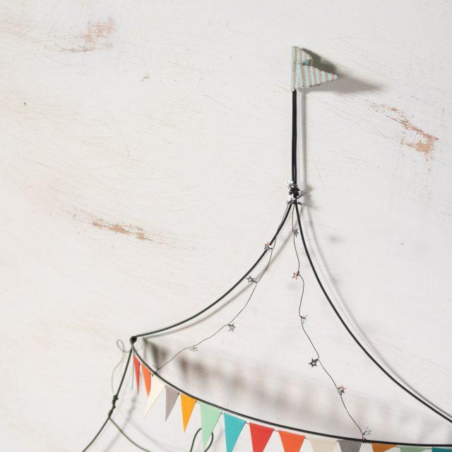 Circo simple de alambre